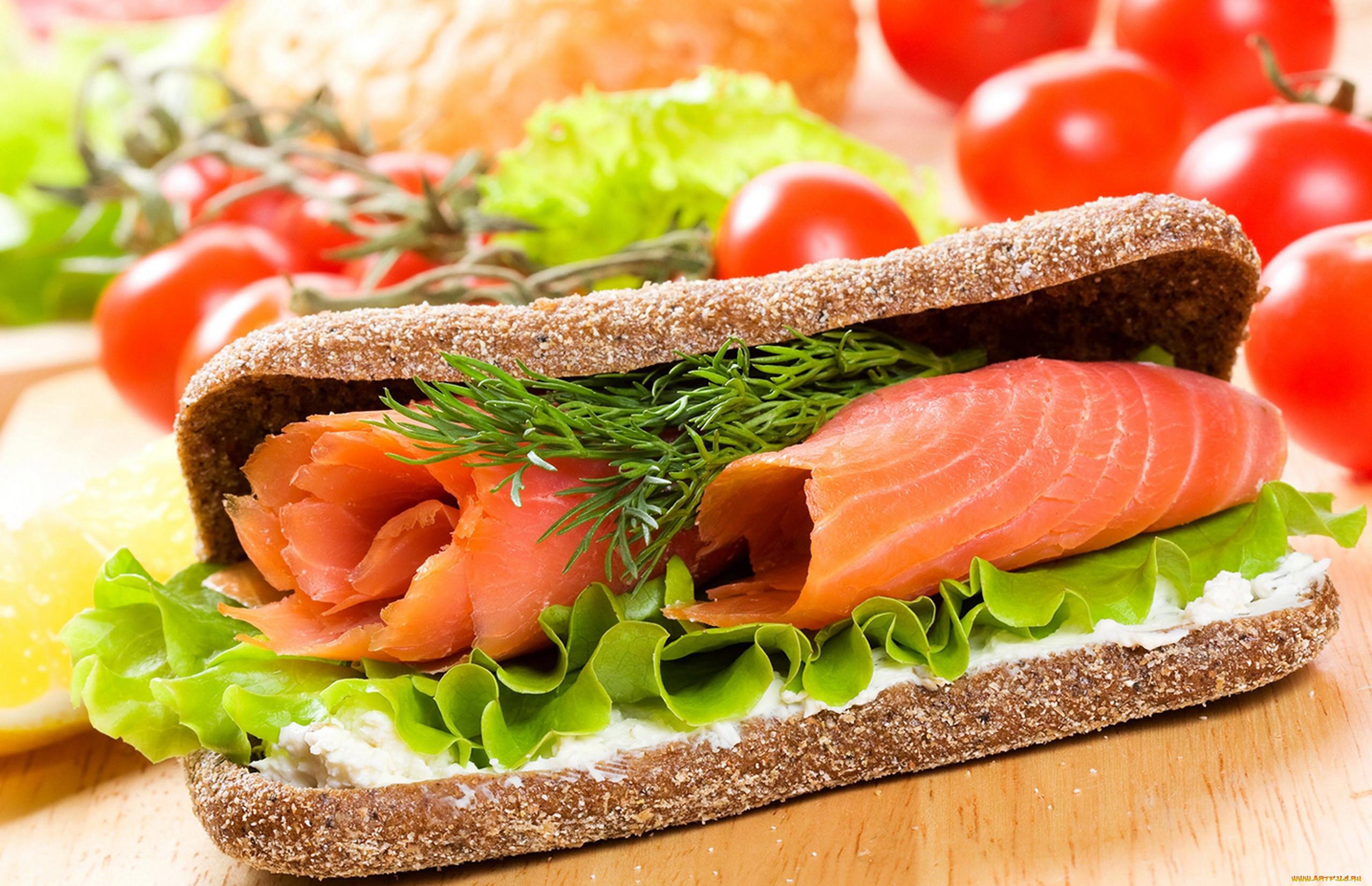 Бутерброд с картинкой